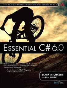 Essential C# 6.0 av Mark Michaelis og Eric Lippert (Heftet)