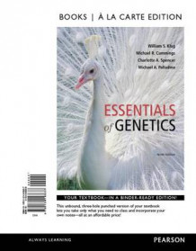 Essentials of Genetics, Books a la Carte Edition av William S Klug, Michael R Cummings, Charlotte A Spencer og Michael A Palladino (Perm)