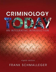 Criminology Today av Frank J. Schmalleger (Heftet)