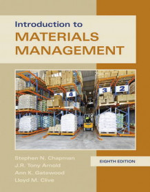 Introduction to Materials Management av Steve Chapman, Ann K. Gatewood, Tony K. Arnold og Lloyd Clive (Innbundet)