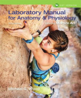 Omslag - Laboratory Manual for Anatomy & Physiology Featuring Martini Art, Cat Version