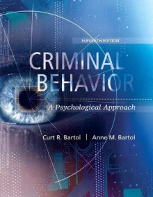 Criminal Behavior av Curt R. Bartol og Anne M. Bartol (Heftet)