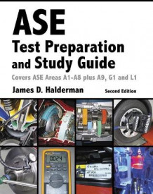 ASE Test Prep and Study Guide av James D. Halderman (Heftet)