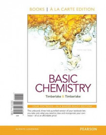 Basic Chemistry, Books a la Carte Edition; Modified Masteringchemistry with Pearson Etext -- Valuepack Access Card -- For Basic Chemistry av Karen C Timberlake (Perm)