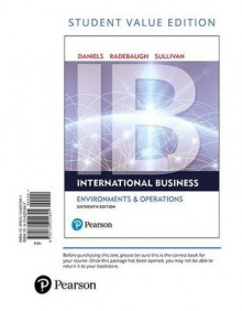 International Business, Student Value Edition av Professor John Daniels, Lee Radebaugh og Daniel Sullivan (Perm)