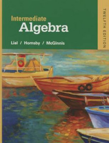 Intermediate Algebra with Integrated Review Plus MyMathLab av Margaret L. Lial, John Hornsby og Terry McGinnis (Innbundet)