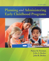 Omslag - Planning and Administering Early Childhood Programs, with Enhanced Pearson eText -- Access Card Package