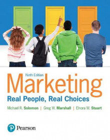 Marketing av Michael G. Solomon, Greg W. Marshall og Elnora W. Stuart (Heftet)