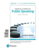 Omslag - Essential Elements of Public Speaking, Books a la Carte Edition