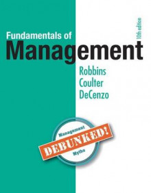 Fundamentals of Management av Stephen P Robbins, Mary A Coulter og David A De Cenzo (Blandet mediaprodukt)