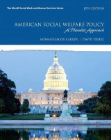 Omslag - American Social Welfare Policy