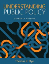 Omslag - Understanding Public Policy, Books a la Carte