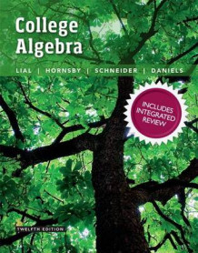 College Algebra with Integrated Review Plus Mymathlab with Pearson Etext and Worksheets -- Access Card Package av Margaret L Lial (Blandet mediaprodukt)