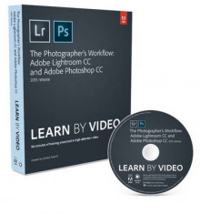 The Photographer's Workflow - Adobe Lightroom CC and Adobe Photoshop CC Learn by Video 2015 av Mikkel Aaland (Blandet mediaprodukt)