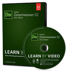 Adobe Dreamweaver CC Learn by Video 2015 av Rob Huddleston og David Powers (DVD-ROM)