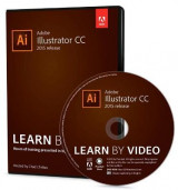 Omslag - Adobe Illustrator CC Learn by Video (2015 release)