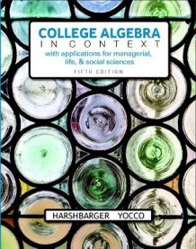 College Algebra in Context Plus MyMathLab with Pearson eText - Access Card Package av Ronald J. Harshbarger og Lisa S. Yocco (Heftet)