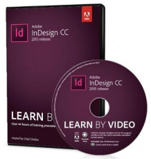 Adobe InDesign CC Learn by Video 2015 av Chad Chelius (DVD-ROM)