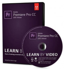 Adobe Premiere Pro CC Learn by Video 2015 av Maxim Jago (DVD-ROM)