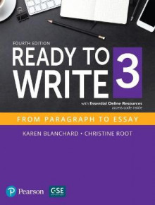Ready to Write 3 with Essential Online Resources av Karen Blanchard, Christine Baker Root og Pearson (Heftet)