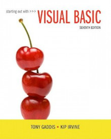 Starting Out with Visual Basic av Tony Gaddis og Kip R. Irvine (Heftet)