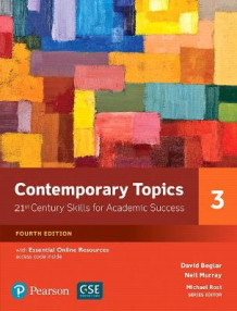 Contemporary Topics 3 with Essential Online Resources av David Beglar (Heftet)
