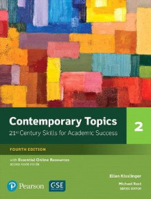 Contemporary Topics 2 with Essential Online Resources av Ellen Kisslinger (Heftet)