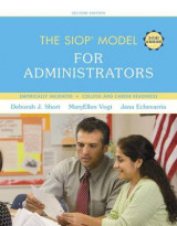 Omslag - The SIOP Model for Administrators with Enhanced Pearson Etext