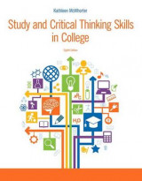 Omslag - Study and Critical Thinking Skills in College Plus Mystudentsuccesslab with Pearson Etext -- Access Card Package