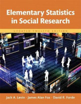 Omslag - Elementary Statistics in Social Research, Books a la Carte