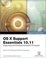 Omslag - OS X Support Essentials 10.11 - (Includes Content Update Program)