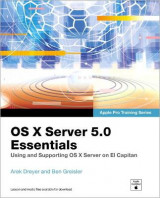 Omslag - OS X Server 5.0 Essentials