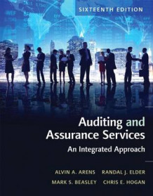 Auditing and Assurance Services Plus Myaccountinglab with Pearson Etext -- Access Card Package av Alvin a Arens, Randal J Elder, Mark S Beasley og Chris E Hogan (Blandet mediaprodukt)