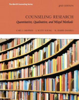 Omslag - Counseling Research