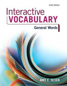Interactive Vocabulary av Amy E Olsen (Blandet mediaprodukt)