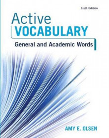 Active Vocabulary av Amy E Olsen (Blandet mediaprodukt)