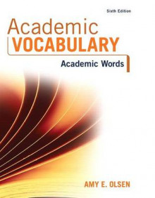 Academic Vocabulary av Amy E Olsen (Blandet mediaprodukt)