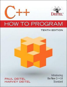 C++ How to Program av Paul Deitel og Harvey Deitel (Heftet)