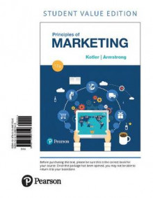 Principles of Marketing, Student Value Edition av Philip T Kotler og Gary Armstrong (Perm)