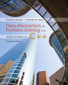 Data Abstraction & Problem Solving with C++ av Frank M. Carrano og Timothy D. Henry (Heftet)