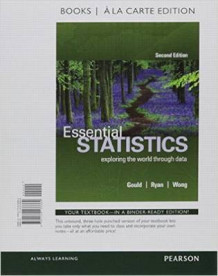 Essential Statistics, Books a la Carte Edition Plus Mystatlab with Pearson Etext -- Access Card Package av Rob Gould (Blandet mediaprodukt)