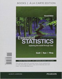 Essential Statistics, Books a la Carte Edition Plus Mystatlab with Pearson Etext -- Access Card Package av Rob Gould, Colleen N Ryan og Rebecca Wong (Blandet mediaprodukt)