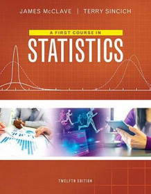 First Course in Statistics, A, Plus Mystatlab with Pearson Etext -- Access Card Package av James T McClave og Terry Sincich (Blandet mediaprodukt)