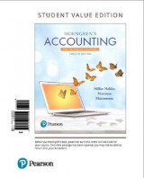 Omslag - Horngren's Accounting, the Financial Chapters, Student Value Edition
