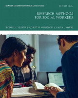 Omslag - Research Methods for Social Workers with MyEducationLab with Enhanced Pearson eText -- Access Card Package