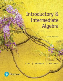Introductory & Intermediate Algebra av Terry McGinnis, Margaret L. Lial og John Hornsby (Innbundet)