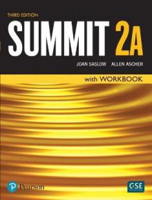 A Summit Level 2 Student Book/Workbook Split av Joan Saslow og Allen Ascher (Heftet)