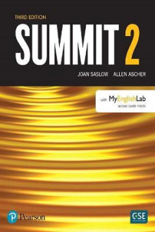 Summit Level 2 with MyEnglishLab av Joan Saslow og Allen Ascher (Heftet)