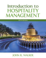 Omslag - Introduction to Hospitality Management Plus Myhospitalitylab with Pearson Etext -- Access Card Package