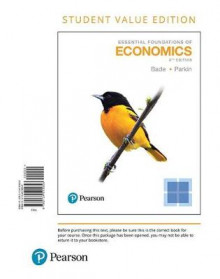 Essential Foundations of Economics, Student Value Edition av Robin Bade og Michael Parkin (Perm)